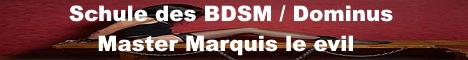 Banner Schule des BDSM